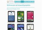 WEDEWA Webdesign Wallisellen: Responsive Websites Kundenspezifische Apps für Mobilephones