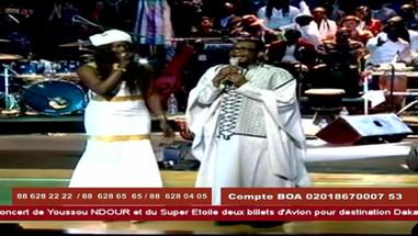 Leycha Diop mit Youssoun Ndour