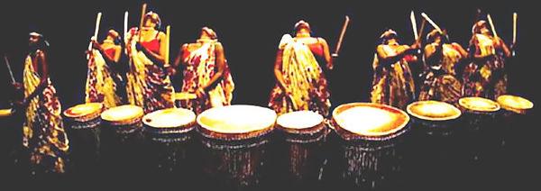 Afrikanische Trommel-Session