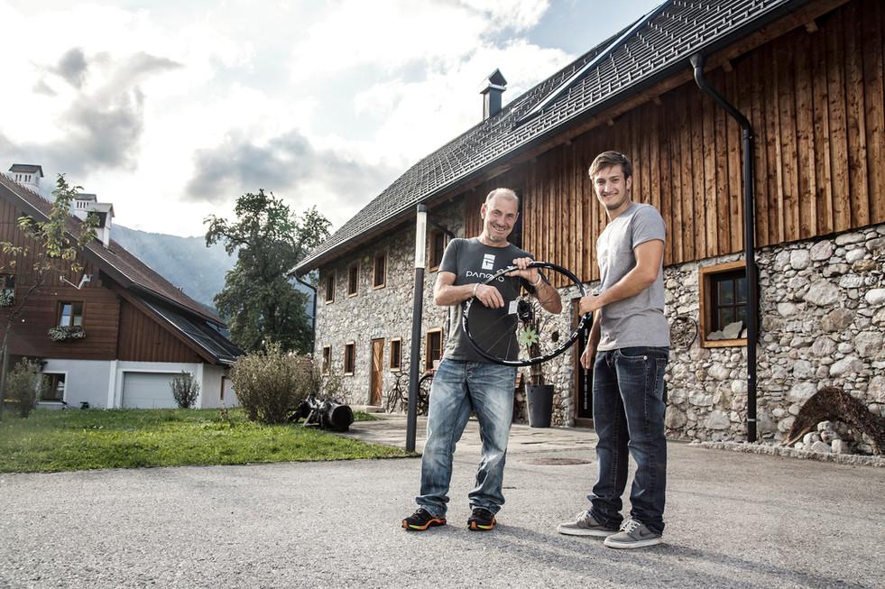 Johann (Pancho) und Florian Pöllmann