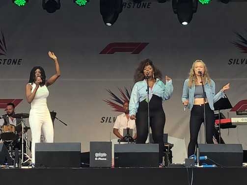 Heather Small @ Silverstone