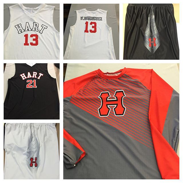 AIS custom sublimated basketball uniforms! Call us for pricing 323-582-3005 #ais #aisathleticuniform