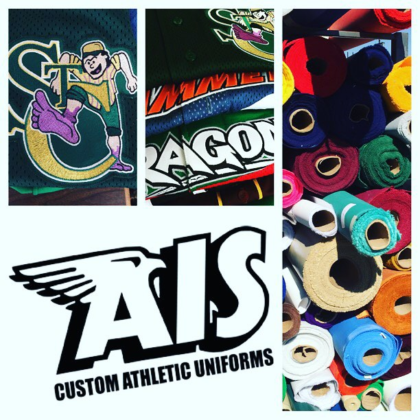 AIS Custom Athletic Uniforms call us for a quote today