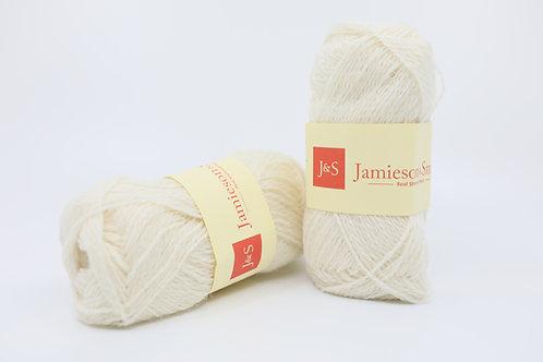 英國毛線J&S Shetland Heritage_White(白)