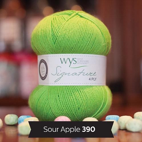 WYS 4 Ply襪線_Sour Apple 390
