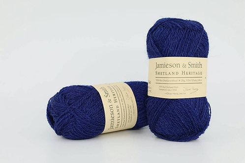 英國毛線J&S Shetland Heritage_Mussel Blue(蚌殼藍)