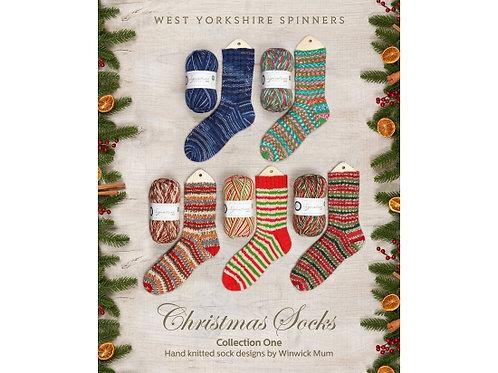 編織書Christmas Socks Collection One
