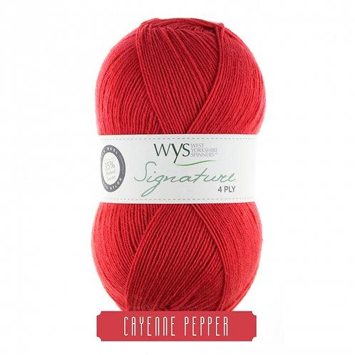 WYS 4 Ply襪線_Cayenne Pepper 510