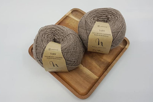 Noos Concept 100% Organic Cashmere Yarns_Taupe