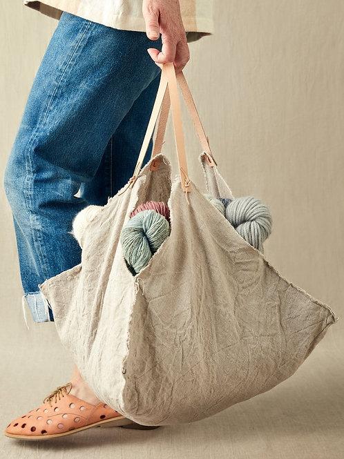 Four Corner Bag 四角袋子(小)(不含真皮提把)