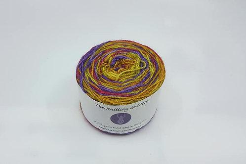 The Knitting Goddes手染線_Sock(襪線) Over The Rainbow