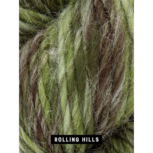 WYS The Croft Aran Roving Wild Shetland_Rolling Hills 793