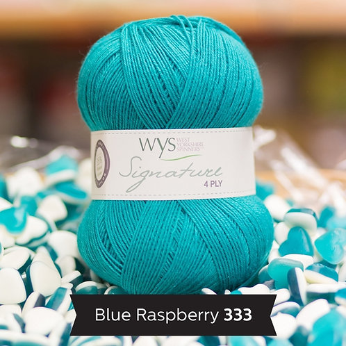 WYS 4 Ply襪線_Blue Raspberry 333
