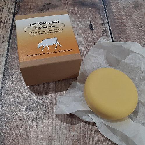英國The Dairy Soap_Gold Top沐浴皂