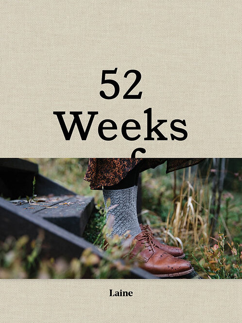 編織書Laine 52 Weeks of Socks