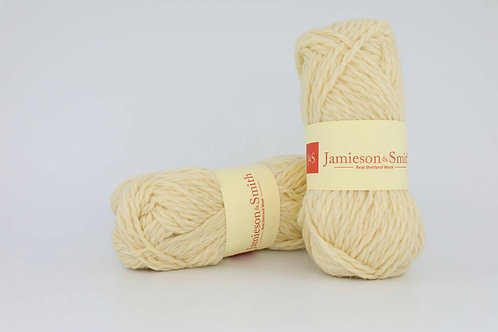 英國毛線J&S Shetland Aran Worsted_Flugga White(福樂嘉白)