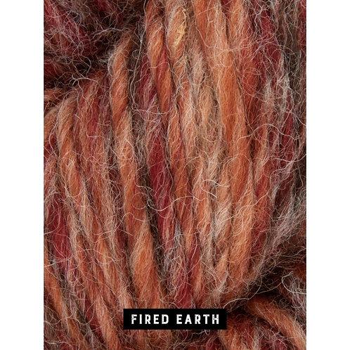 WYS The Croft Aran Roving Wild Shetland_Fired Earth 792