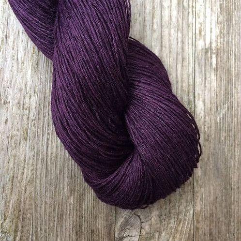Lithuania Linen (亞麻夏紗)_3.11 Aubergine