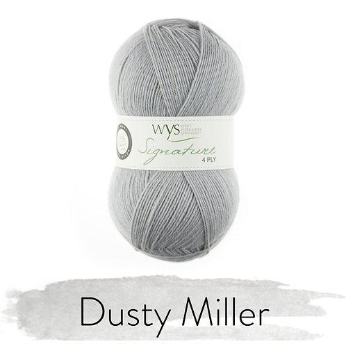 WYS 4 Ply襪線_Dusty Miller 129