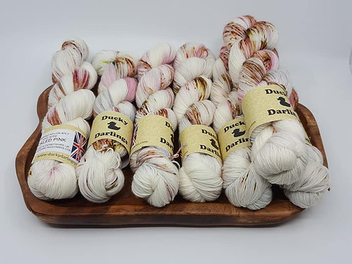 Ducky Darlings手染線Socks_Tickled Pink