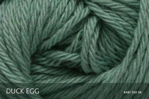 Baby Alpaca & Silk DK_Duck Egg