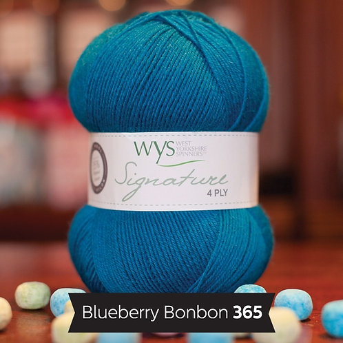 WYS 4 Ply襪線_Blueberry Bonbon 365