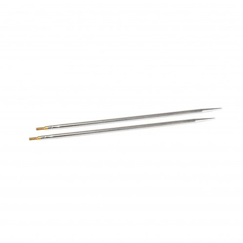 "金屬輪針組(襪) 針頭 5"" 2.0mm Sharp Interchangeable Tips 5"" 2.0mm"