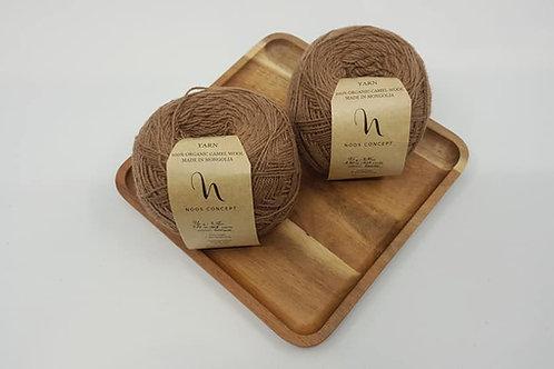 Noos Concept 100% Organic Camel Yarn_Brown