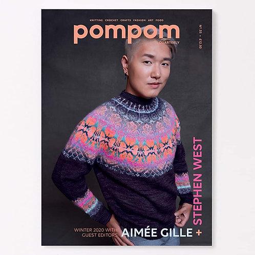 編織雜誌Pom Pom 第35期