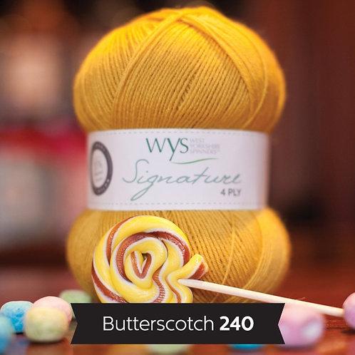 WYS 4 Ply襪線_Butterscotch 240
