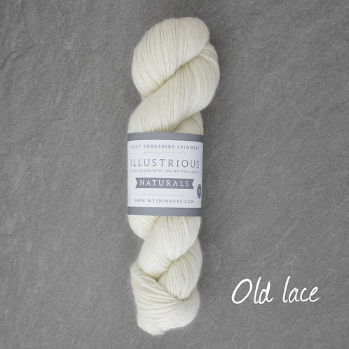 WYS Illustrious Naturals_Old Lace(蕾絲白)