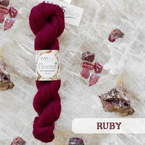 WYS Wensleydale Gems_Ruby 578