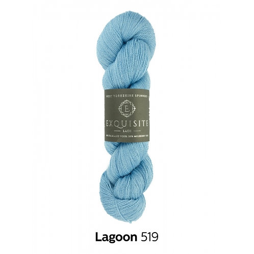 WYS Exquisite Lace_ Lagoon 519