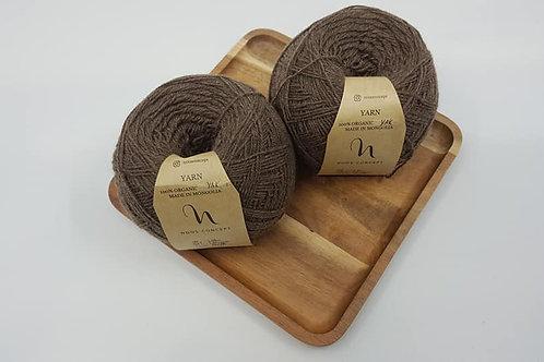 Noos Concept 100% Organic Yak Yarn_Earth Brown