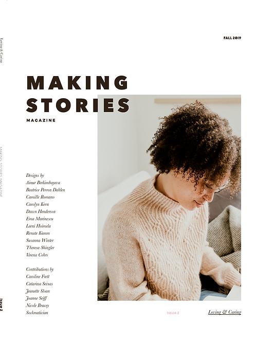 編織雜誌Making Stories Issue 2