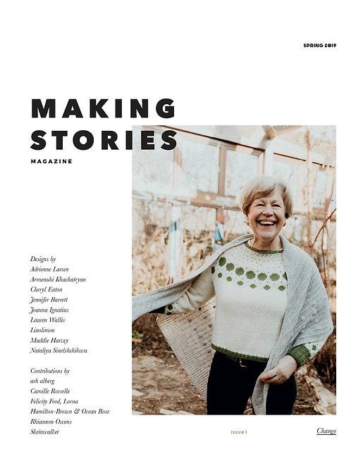 編織雜誌Making Stories Issue 1