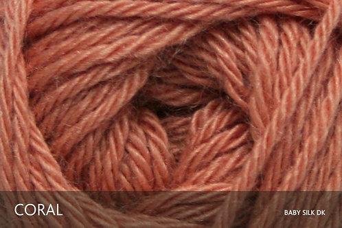 Baby Alpaca & Silk DK_Coral
