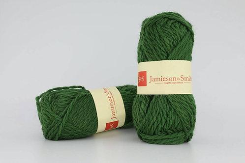 英國毛線J&S Shetland Aran Worsted_Moss Green(青苔綠)