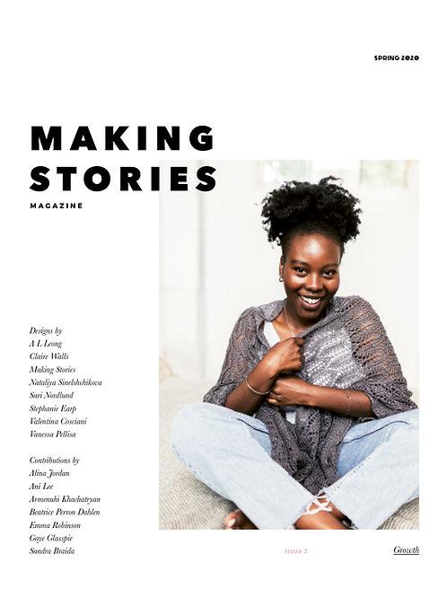 編織雜誌Making Stories Issue 3