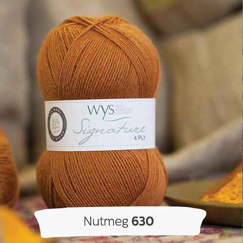 WYS 4 Ply襪線_Nutmeg 630