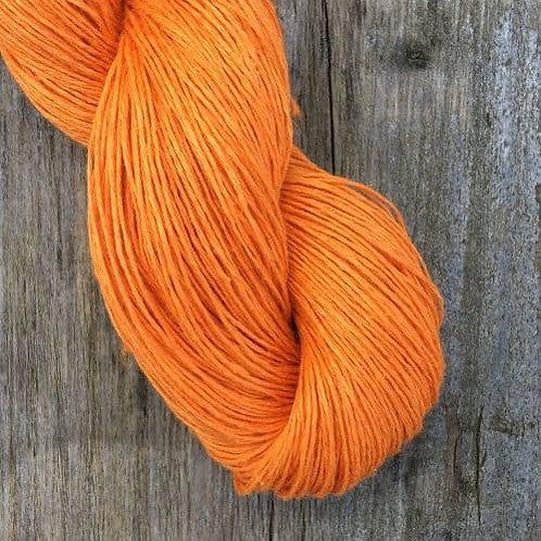 Lithuania Linen (亞麻夏紗)_8.1 Tangerine