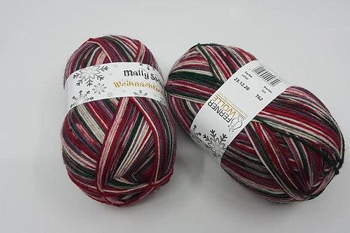 Mally Socks_2020.12.23 (2020年聖誕襪線)