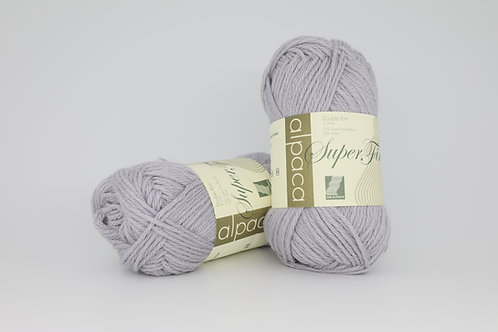 英國毛線 UK Alpaca Superfine Alpaca/Wool DK_Lunar Grey(淡灰)