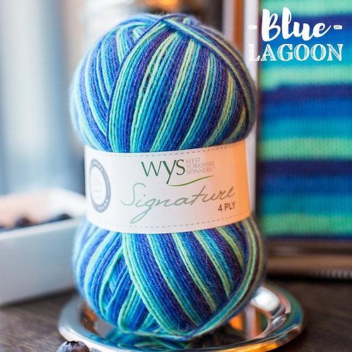 WYS 4 Ply襪線_Blue Lagoon 831