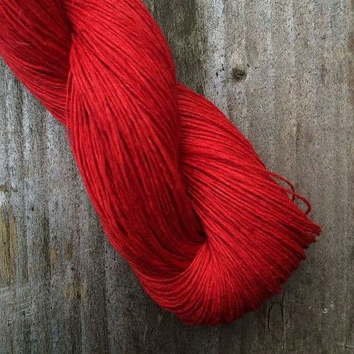 Lithuania Linen (亞麻夏紗)_10.4 Red Red
