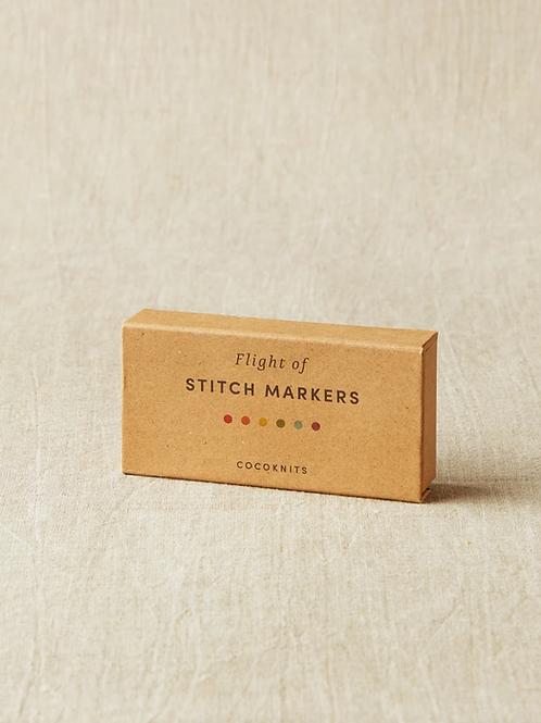 Flight of Stitch Markers 彩色記號圈組合包