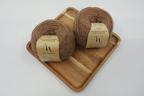 Noos Concept 100% Organic Cashmere Yarns_Brown
