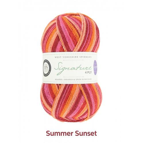 WYS 4 Ply襪線_Summer Sunset 881