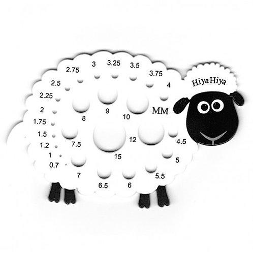 綿羊針號量尺Sheep Needle Gauge