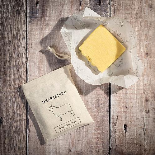 英國The Dairy Soap_Wool Wash Bar羊毛織品清洗皂